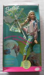 Barbie Rain Or Sun Doll By Mattel in 2000 - The box is in poor condition by Barbie