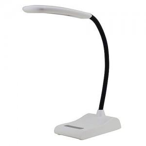MarsLG 5-Level Dimmable Touch Switch Flex Neck LED Desk Lamp 6 Watt, 2407WH