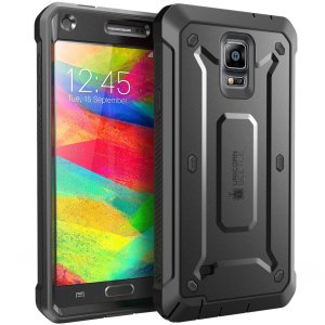 Samsung Galaxy Note 4 Case, SUPCASE [Heavy Duty] Belt Clip Holster Case for Galaxy Note 4 [Unicorn Beetle PRO Series] Full-body Rugg
