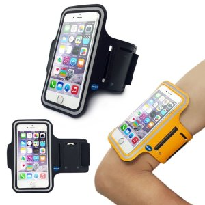 iPhone6 Plus Sports Armband, Nancy's shop Easy Fitting Sports Universal Armband With Build In Screen Protect Case Cover Running band Stylish Ref