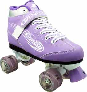 Pacer Comet Girls Light up Skates –Kids Light up Quad Roller skates