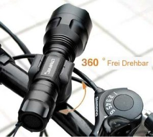 LeeGoal Bicycle LED Mount Holder