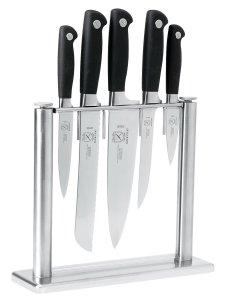 Mercer Culinary Genesis 6-Piece Forged Knife Block Set