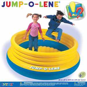 #1. Jump-O-Lene Bouncer by Intex