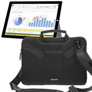 #7. Evecase Microsoft Surface Pro 3 Case Bag, Multi-functional Neoprene Messenger Case