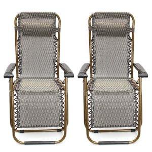 Kingso Zero Gravity Reclining Patio Chair