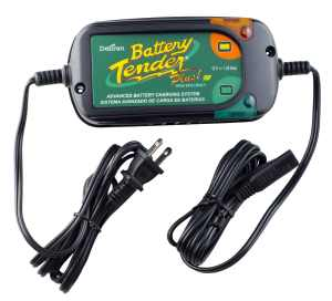 Battery Tender 022-0185G-dl-wh Black 12 Volt 1.25 Amp Plus Battery ChargerMaintainer