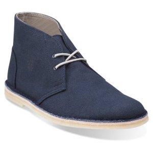 Clarks Men's Jink Desert Lace Up Comfortable Fashion Boot