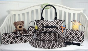 SoHo Collection Diaper Bag