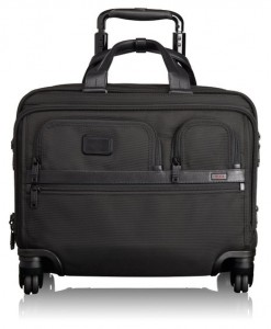Tumi Alpha Ballistic Business Briefcase with Laptop Case