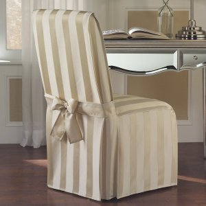 United Curtain Dining Room Chair Cover