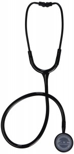 ADC Adscope 609ST Stethoscope, Stealth Black