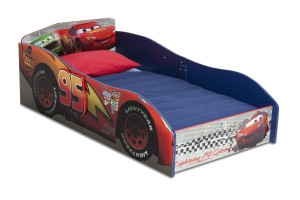 Delta Children's Products Disney Pixar Cars Wood Toddler Bed
