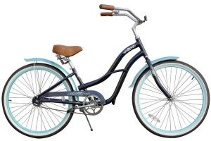 Fito Women's Brisa Aluminum Alloy 1-Speed 26-Inch Wheel Beach Cruiser Bike