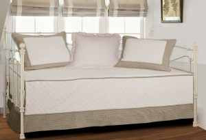 Greenland Home Brentwood Daybed Set, IvoryTaupe