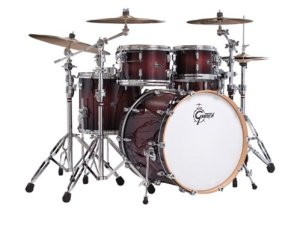 Gretsch Drums RN1-1414F-CB 14-Inch Drum Set Floor Tom Tom - Cherry Burst