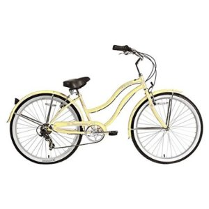 Micargi Pantera Shimano 7-Speed 26 Women's Beach Cruiser Bicycle Bike, Steel Frame