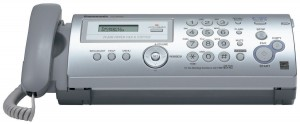 Panasonic Plain Paper Faxcopier- Ultra-compact Design.