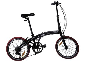 Sueh Q1 Folding Bike Shimano 7 Speed 20 Inch Foldable Bicycle