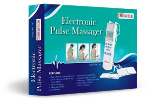 Tens Unit Handheld Electronic Pulse Massager - Excellent Muscle Stimulator for Electrotherapy Pain Management