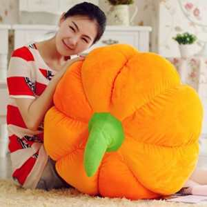 US Top Generic Cute Pumpkin Pillow Cushion Plush Toy Doll