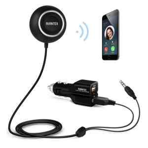 AVANTEK BC-L6 Bluetooth 4.0 Hands-Free Car Kit Wireless Car Stereo Audio Music Receiver
