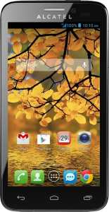 Alcatel One Touch Fierce 4G Android Smartphone Unlocked - Use With Any SIM - Silver