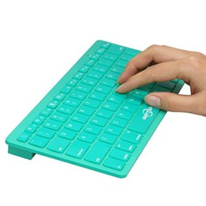 BATTOP Bluetooth Keyboard Ultra Slim for All IOS System PC Tablet Smartphone (Apple iPad AiriPad Air2, iPad 4  3  2,iPad Mini 2,iPad Mini,iPhone 66S6 Pl