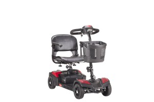 Drive Medical Sfscout4 Spitfire Scout 4 Wheel Travel Power Scooter