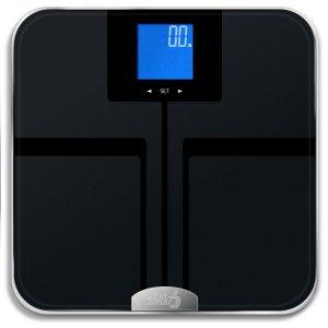 EatSmart Precision GetFit Digital Body Fat Scale w 400 lb. Capacity & Auto Recognition Technology