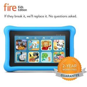 Fire Kids Edition, 7 Display, Wi-Fi, 8 GB, Blue Kid-Proof Case