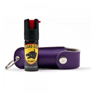 Guard Dog Security 18-Percentage Oleoresin Capsicum Pepper Spray with Keychain Holster, 12-Ounce
