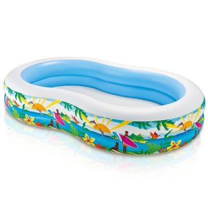 Intex Swim Center Paradise Inflatable Pool, 103 X 63 X 18, for Ages 3+