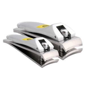Klipit Nail Clipper Set - Fingernail + Toenail - Stainless Steel (HAR-003)