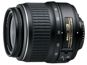 Nikon AF-S DX NIKKOR 18-55mm f3.5-5.6G ED II Zoom Lens with Auto Focus for Nikon DSLR Cameras