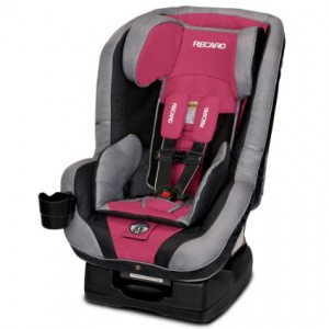 RECARO 2015 Performance Ride Convertible Car Seat, Rose