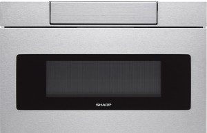 SHARP SMD2470AS Microwave Drawer, 24, Stainless Steel