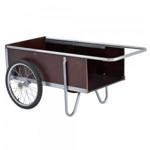 Sandusky Lee GC5332 6.5 Cubic Foot Galvanized Steel Edging Garden Cart, 52.5 Length, 21.25 Height, 31.50 Width