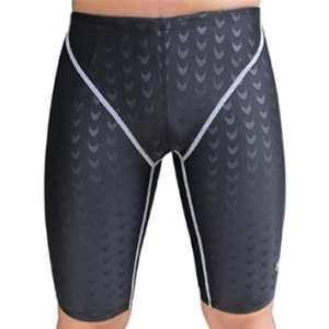 Winkeyes® Nylon Sharkskin Professional Boxer Men Swimming Trunks Swimsuit Swimwear Men Professional Swim Jammer Shorts Surf Bathing Suits