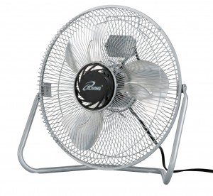 iLIVING ILG8F12 3-Speed High Velocity Floor Fan, 12-Inch