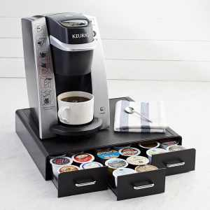 AmazonBasics Coffee Pod Storage Drawer for K-Cup Pods - 36 Pod Capacity