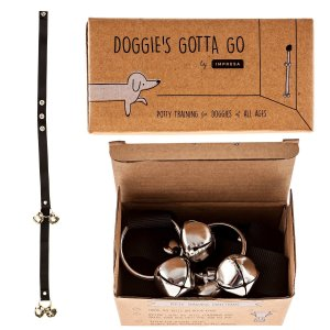 Doggie's Gotta Go Potty BellsDog Doorbell for House Training