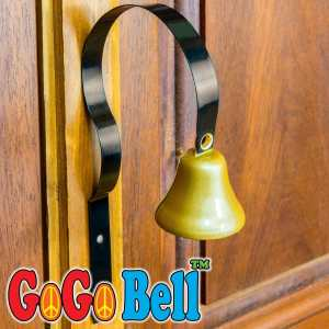 GoGo Bell Dog Doorbell for Housebreaking Housetraining Potty Training Your Poochie to Let You Know When they Need to Tinkle