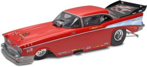 RevellMonogram McEwen '57 Chevy Funny Car Plastic Model Kit (124 Scale)