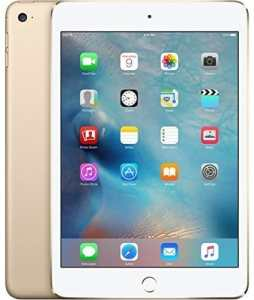 Apple iPad mini 4 (64GB) Wi-Fi + 4G LTE Cellular (Factory UNLOCKED) - Gold
