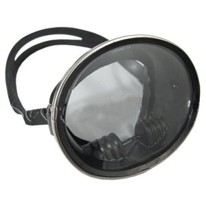 Classic Old School Oval Silicone Scuba Diving Snorkeling Mask