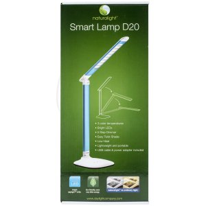 Daylight Company Naturalight UN1327 Smart Light, Metallic Silver