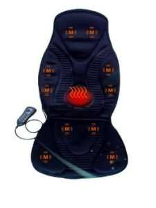 FIVE STAR FS8812 10-MOTOR MASSAGE SEAT CUSHION WITH HEAT