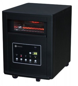 Homegear Pro 1500w Large Room Infrared Space Cabinet Heater