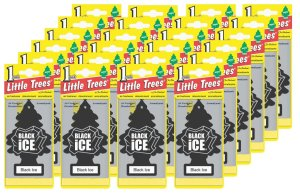 Little-Trees Black Ice Little Tree Air Freshener- 24 Pack